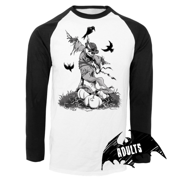 Scarecrow Baseball T-Shirt