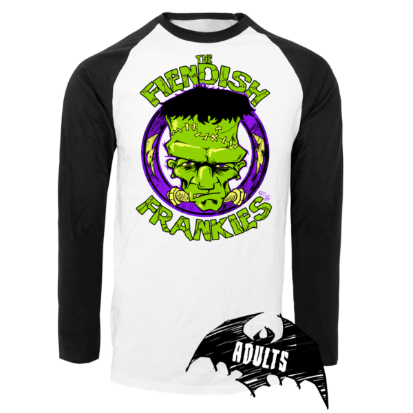 The Fiendish Frankies Baseball T-Shirt