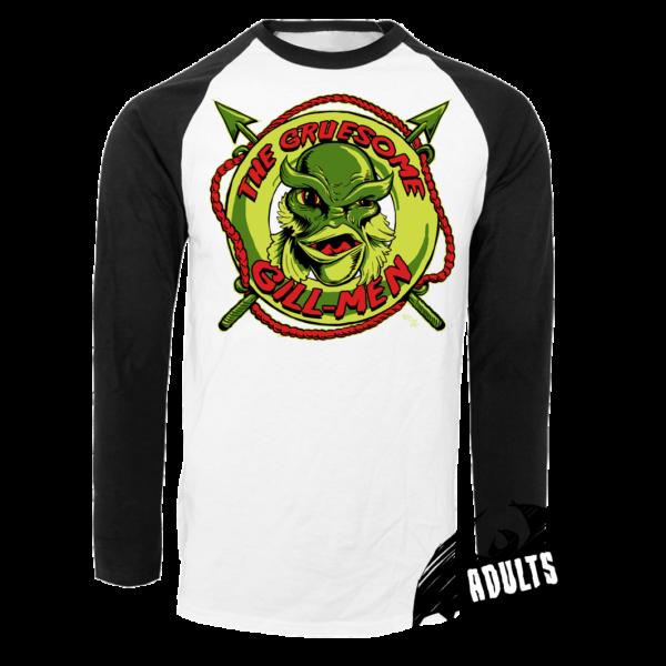 The Gruesome Gill-Men Baseball T-Shirt