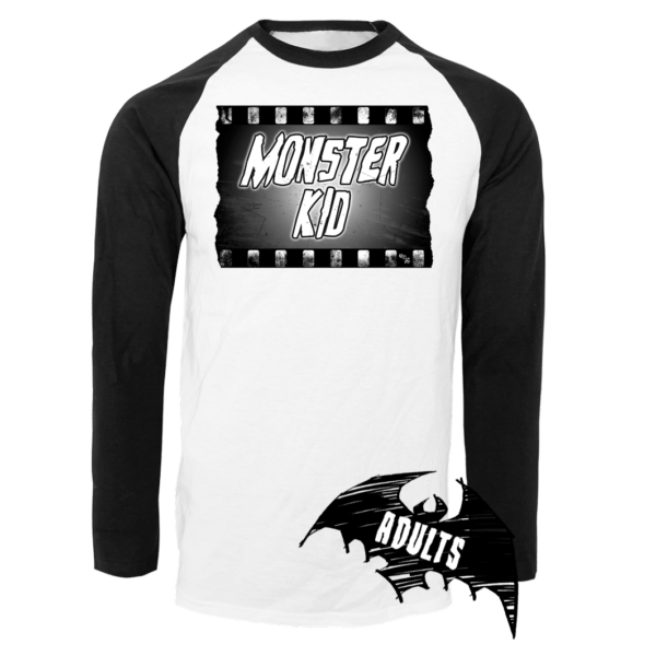 Monster Kid Baseball T-Shirt
