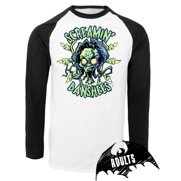 The Screamin' Banshees Baseball T-Shirt