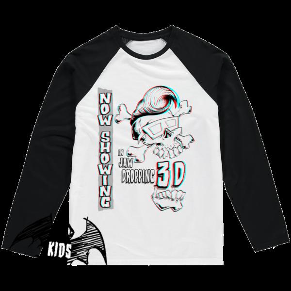Jaw Dropping 3D Kids Shirt