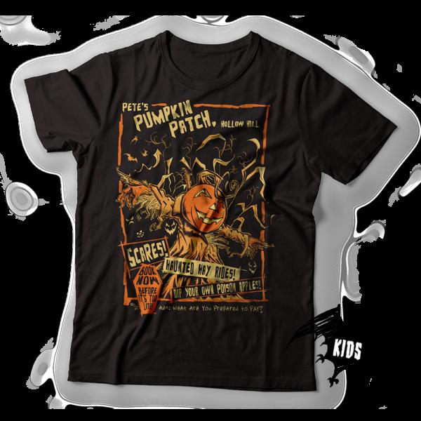 Pete's Pumpkin Patch Kids T-Shirt